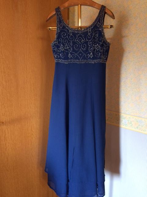 blaueskleid